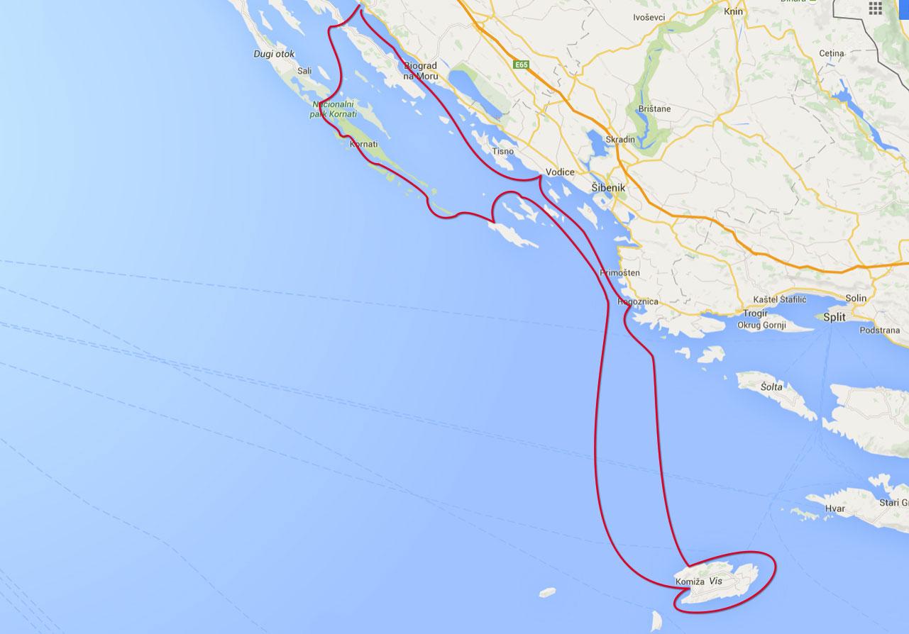 VisKornati tour  Vranjak diving cruises
